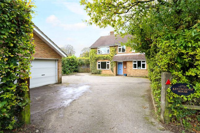 Thumbnail Detached house for sale in Abbey Road, Medstead, Alton, Hampshire