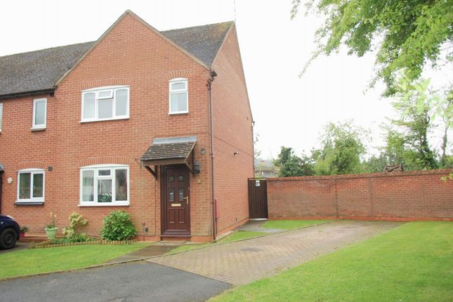 Thumbnail End terrace house for sale in Holland Meadow, Welford On Avon, Stratford-Upon-Avon
