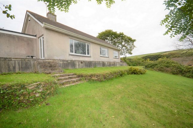 Thumbnail Detached bungalow for sale in Penwartha Road, Bolingey, Perranporth, Cornwall