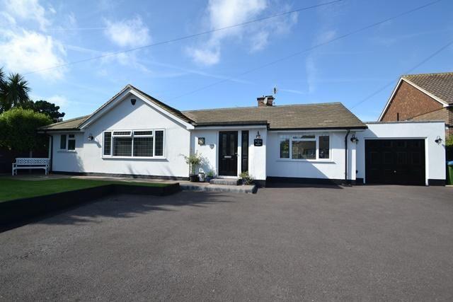 Thumbnail Detached bungalow for sale in Sea Lane, Ferring, West Sussex