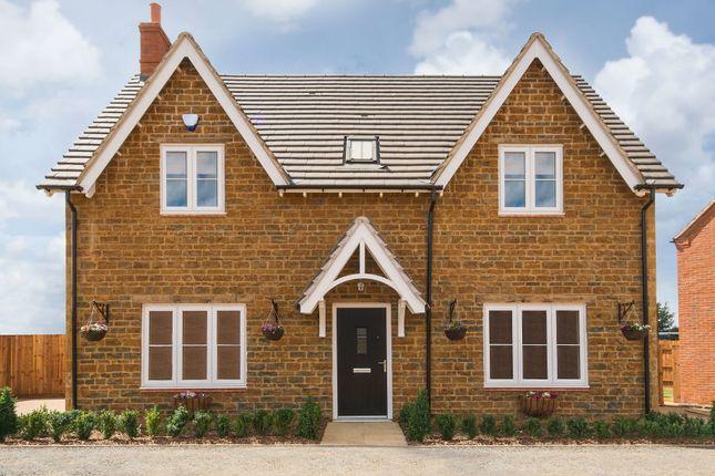 Thumbnail Detached house for sale in Cottingham Drive, Moulton, Northampton