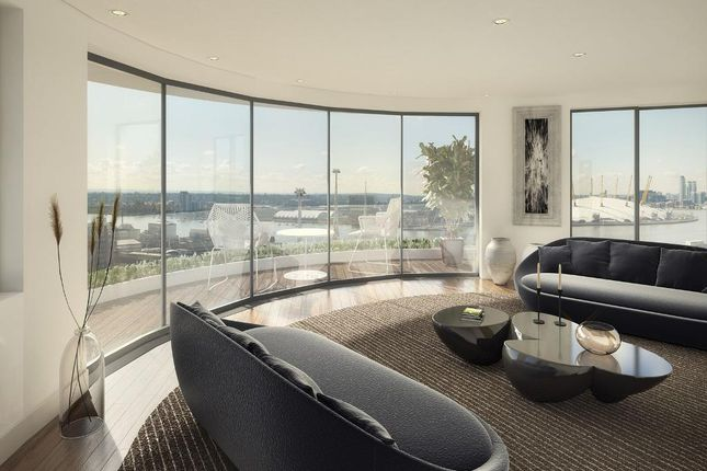 Thumbnail 2 bed flat for sale in Royal Victoria Residence, Tidal Basin Rd, Silvertown, London