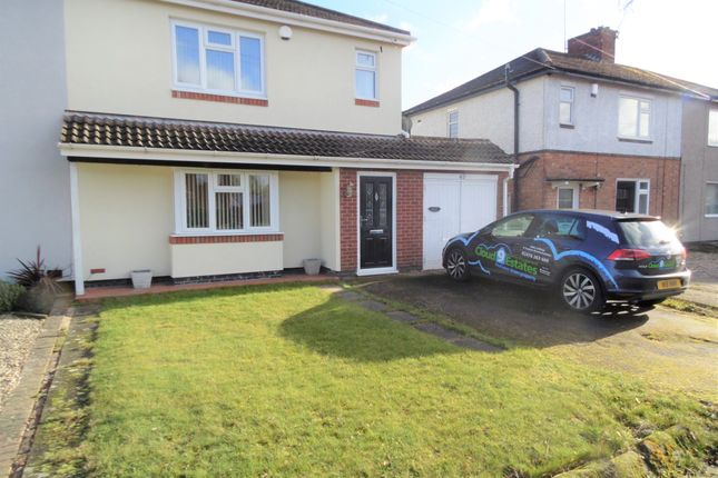 Thumbnail Semi-detached house to rent in Clifford Bridge Road, Coventry