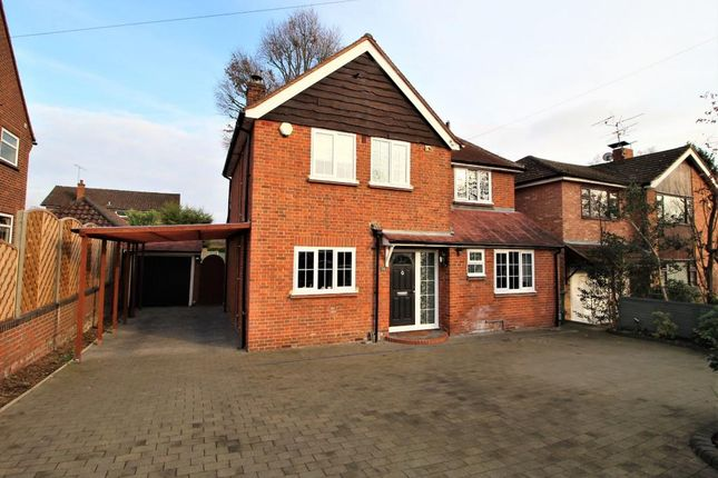 Thumbnail Detached house for sale in Warren Rise, Camberley