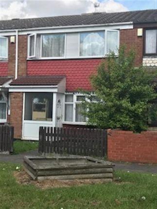 Thumbnail Terraced house to rent in Bloomsbury Walk, Nechells, Birmingham