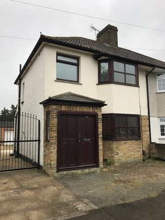 Thumbnail Semi-detached house to rent in Northdown Road, Welling