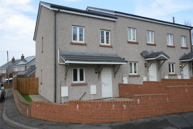 Thumbnail End terrace house to rent in 25 Horsfield Close, Whitehaven, Cumbria