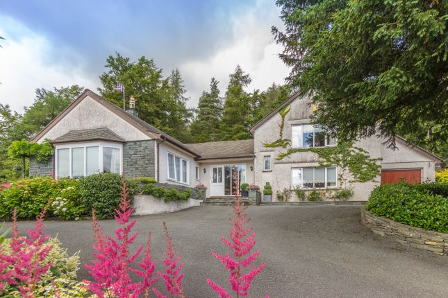 Thumbnail Detached house for sale in Cedar Lodge, Black Beck Wood, Windermere