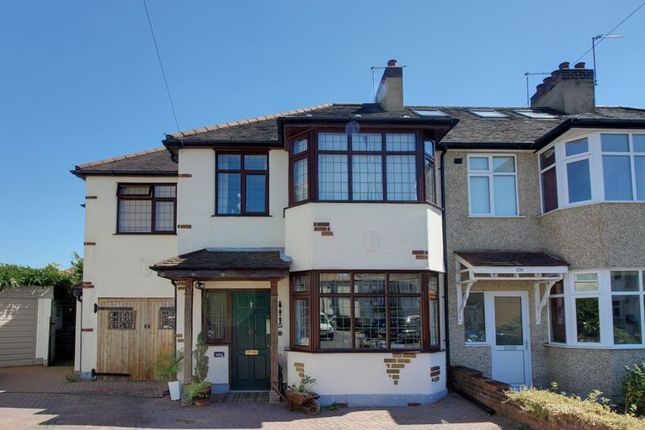 Thumbnail Semi-detached house for sale in Manor Road, Enfield
