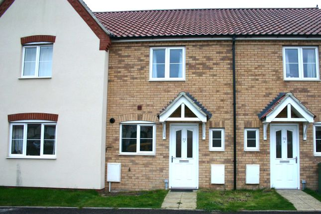 Thumbnail Terraced house to rent in Long Meadow Drive, Diss