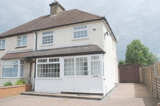Thumbnail Semi-detached house to rent in Langley Road, Abbots Langley