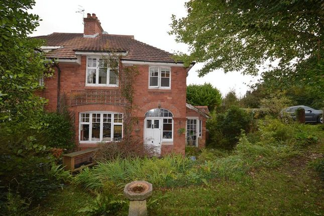 Thumbnail Semi-detached house for sale in The Pines, Bridgwater Road, Sidcot, Winscombe