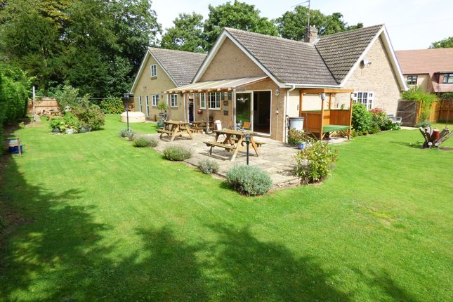 Thumbnail Detached bungalow for sale in Priory Gardens, Chesterton