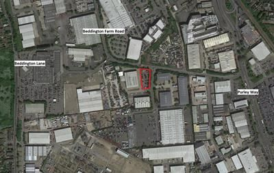 Thumbnail Light industrial to let in Land Off Peterwood Way, Croydon, Surrey