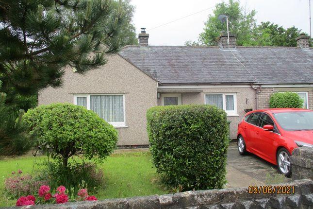 2 bed semi-detached bungalow for sale in 50 Bro Silyn, Talysarn, Caernarfon, Gwynedd LL54