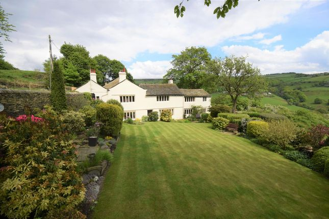 Thumbnail Detached house for sale in Greave House, Ellen Royd Lane, Midgley