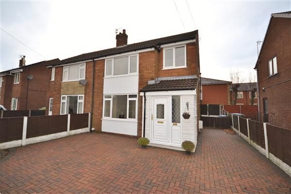 Thumbnail Semi-detached house for sale in Birch Road, Coppull, Chorley