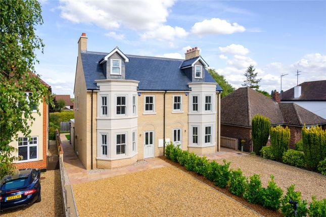 Thumbnail Semi-detached house for sale in Cambridge Road, Great Shelford, Cambridge