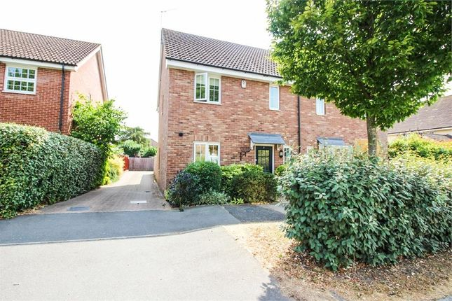 Thumbnail Semi-detached house to rent in Warwick Road, Little Canfield, Dunmow