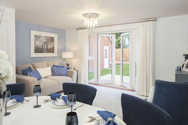 "Thumbnail Semi-detached house for sale in ""Folkestone"" at Lancaster Avenue, Watton, Thetford"