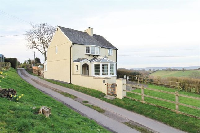 Thumbnail Detached house for sale in Llangeview, Usk
