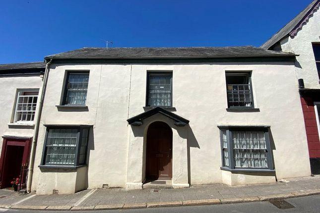 Thumbnail Terraced house for sale in Market Street, Hatherleigh, Okehampton