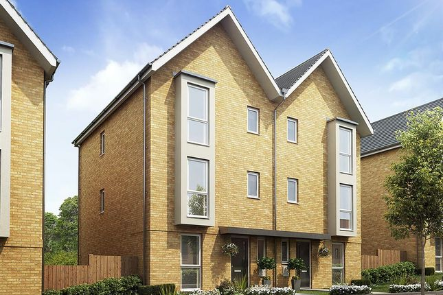 """Thumbnail Semi-detached house for sale in """"The Bluebell"""" at Osprey Close, Stanway, Colchester"""