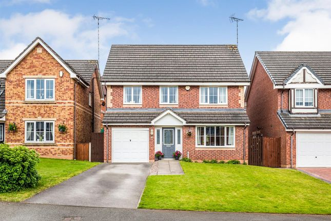 Thumbnail Detached house for sale in Redhill Drive, Tean, Stoke-On-Trent