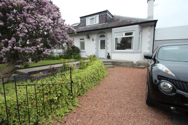 Thumbnail Semi-detached bungalow for sale in West Craigs Crescent, Edinburgh