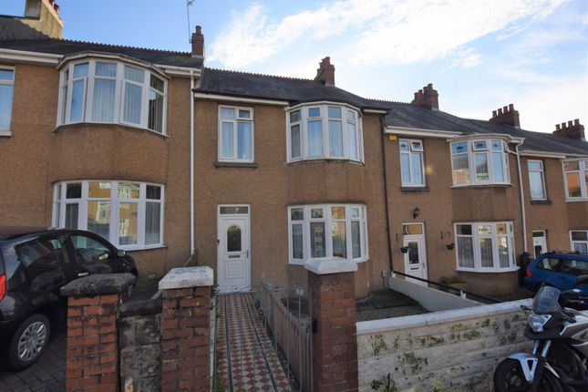 3 bed terraced house for sale in St. Martins Avenue, Peverell, Plymouth PL3