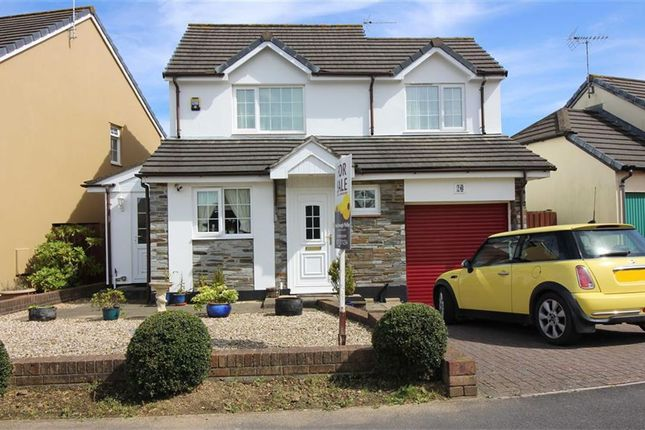 Thumbnail Detached house for sale in Wester-Moor Way, Roundswell, Barnstaple