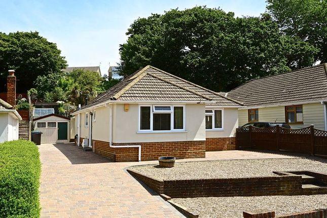 Thumbnail Detached bungalow for sale in Hamble Road, Oakdale, Poole