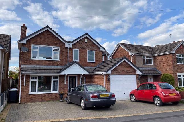 Thumbnail Detached house for sale in Kennedy Road, Trentham, Stoke-On-Trent, Staffordshire