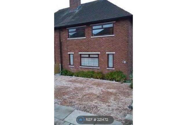 Thumbnail Semi-detached house to rent in Delves Road, Sheffield