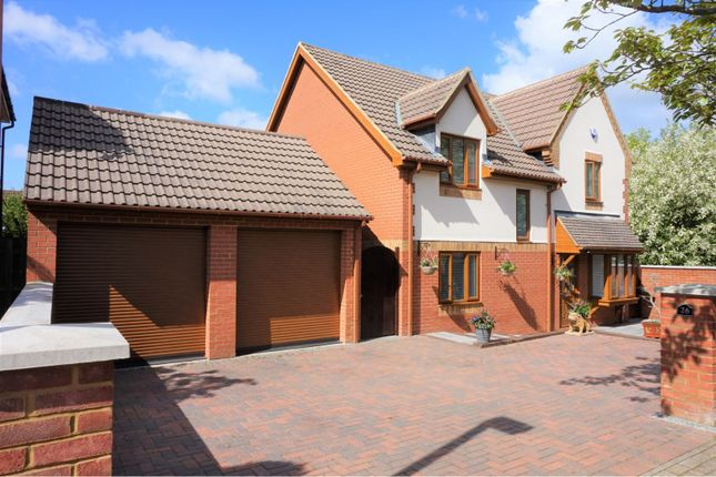 Thumbnail Detached house for sale in Bradwell Common, Milton Keynes