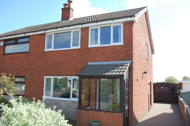 Thumbnail Semi-detached house for sale in Bogburn Lane, Coppull Moor