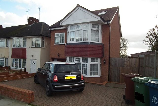Thumbnail Detached house to rent in Long Elmes, Harrow Weald