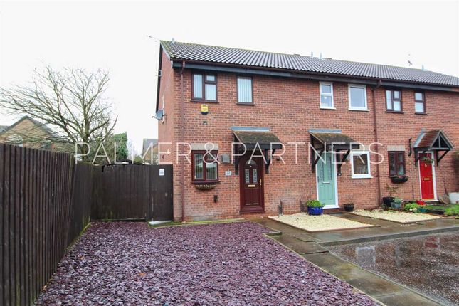 Thumbnail End terrace house for sale in Enville Way, Highwoods, Colchester