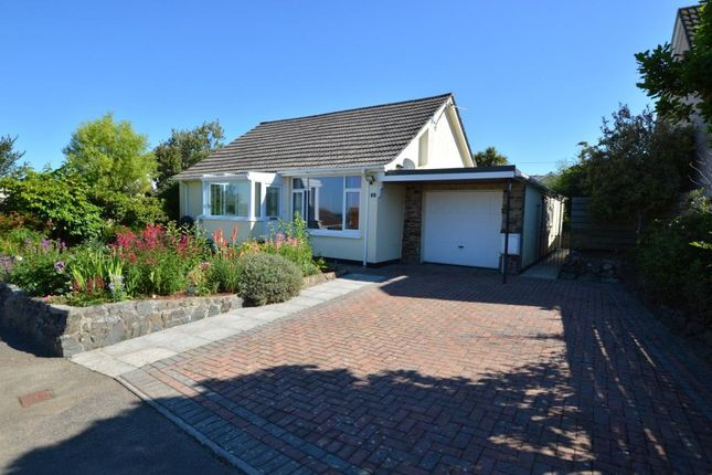 Thumbnail Detached bungalow for sale in Relistian Park, Gwinear, Hayle, Cornwall