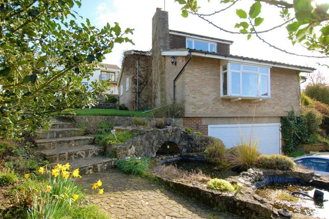 Thumbnail Detached house for sale in Bassett Gardens, Hythe