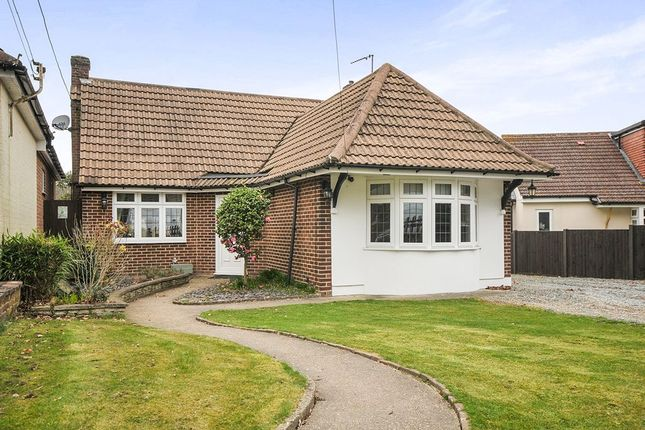 Thumbnail Bungalow for sale in Hever Avenue, West Kingsdown, Sevenoaks