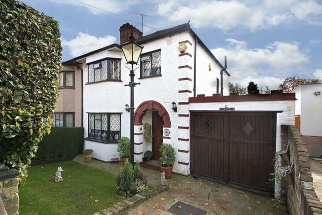 Thumbnail Semi-detached house for sale in The Shrubberies, Chigwell