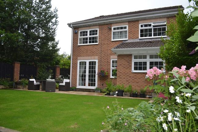 Thumbnail Detached house for sale in Willow Wood Close, Ashton-Under-Lyne