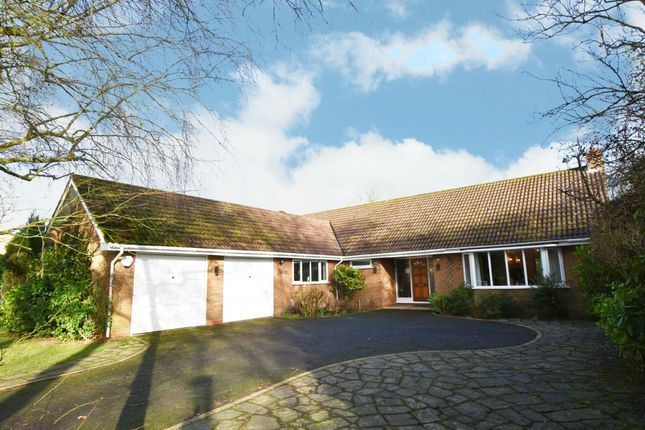 Thumbnail Detached bungalow for sale in Woodlea Drive, Solihull