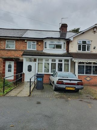 Thumbnail Terraced house for sale in Churchill Road, Bordesley Green