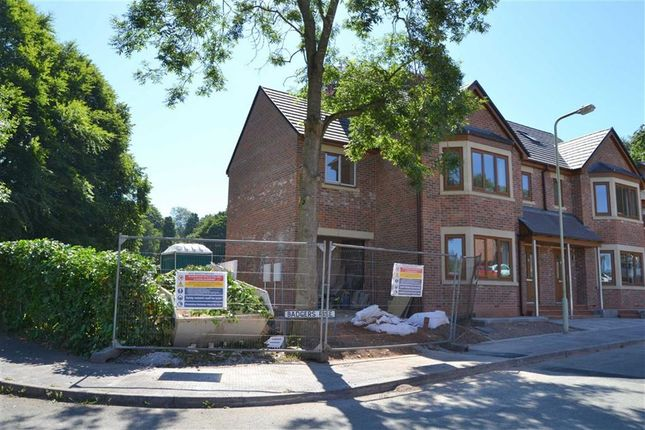 Thumbnail Semi-detached house for sale in Badgers Rise, Leek