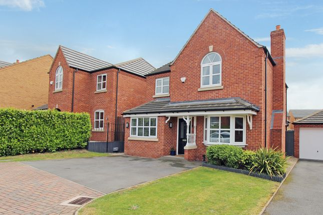 Thumbnail Detached house for sale in Laggan Close, Tamworth