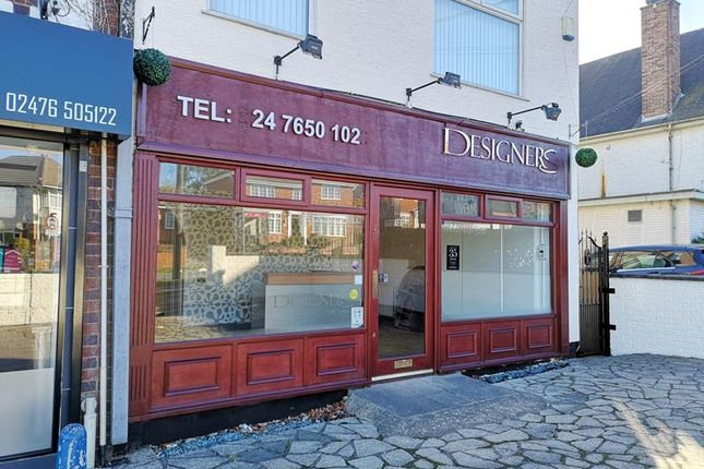 Thumbnail Retail premises to let in Ground Floor, 42 Daventry Road, Coventry