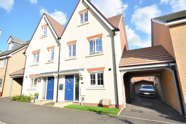 Thumbnail Semi-detached house for sale in Bellona Drive, Leighton Buzzard, Bedfordshire