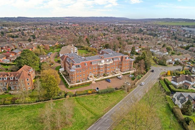 Thumbnail 3 bed flat for sale in Wray Mill House, Batts Hill, Reigate, Surrey